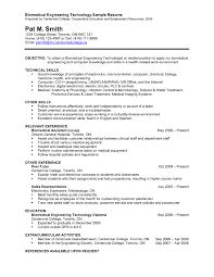 biomedical engineer resume biomedical engineering cv template best of biomedical engineering