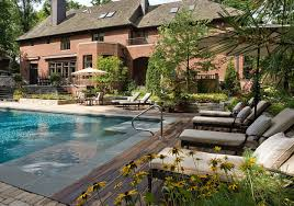 Backyard Landscaping With Pool by Salt Water Pool Designs Pool Design Ideas