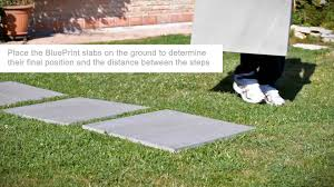 How To Install A Paver Installation Of The Evoke Tiles Onto A Grass Substrate Youtube