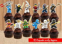 ninjago cake toppers 12 cool lego ninjago party supplies catch my party