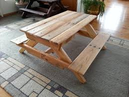 Make Your Own Picnic Table Bench by Diy Handmade Pallet Kids Picnic Table 101 Pallets