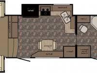 2011 cherokee 39h quad slide 3 bedroom bath and a half rv trailer