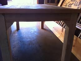 Woodworking Plans Projects June 2012 Pdf by How To Build A Farmhouse Table Diy Project Aholic