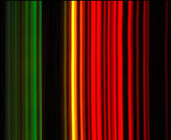 What Is The Color Of A Neon Light Atomic Spectra