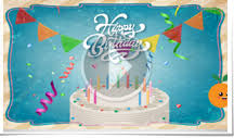 corporate branded birthday ecards animated and non animated