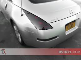 Nissan 350z Blacked Out - rtint nissan 350z 2003 2008 tail light tint film
