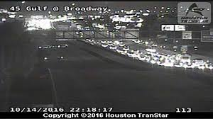 Houston Transtar Traffic Map Pedestrian Hit Killed On Gulf Freeway At Broadway Abc13 Com