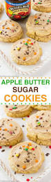 easy thanksgiving cookies apple butter sugar cookies recipe butter sugar cookies apple