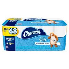 Charmin Bathroom Charmin Ultra Soft Toilet Paper 30 Double Plus Rolls Target