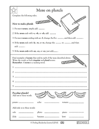 plural nouns worksheets for 2nd grade free worksheets library