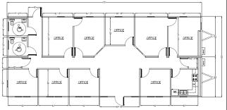 Commercial Office Floor Plans Wilkins Builders Modular Building Commercial Office Space