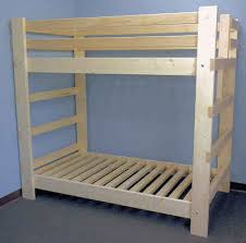 DIY Bunk Beds With Plans Guide Patterns - Simple bunk bed plans