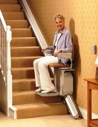 stannah u0027s saxon stairlift for straight stairs details colors