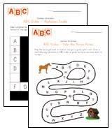 alphabet worksheets for preschool children all kids network
