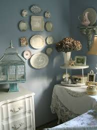 Shabby Chic Blue Paint by Photo Chic Bedroom Design Images