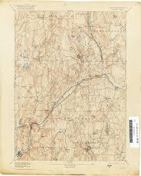 Massachusetts Maps by
