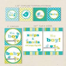 Owl Baby Shower Boy - owl boy printable baby shower decorations u2013 lil u0027 sprout greetings