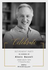 retirement party invitations free retirement farewell party invitation templates greetings island