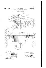 patent us2532769 kitchen sink and cabinet combined google patents