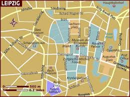 map of leipzig map of leipzig