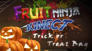 halloween bags for trick or treating fruit ninja kinect trick or treat bag youtube