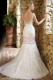 robe de mari e dentelle sirene fascinante robe de mariée balayage pinceau traîne sirène col carré