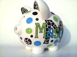 Monogram Piggy Bank 33 Best Piggies Images On Pinterest Piggy Banks Pigs And Saving