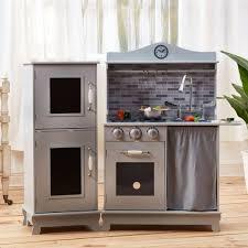 jeux de cuisine enfants jeu de cuisine enfant en bois dinette grise fille garçon