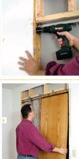 Install Basement Door by How To Install A Pocket Door Easily Sliding Pocket Door Plans