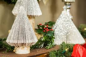 how to diy book page christmas tree hallmark channel