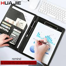 Portfolio Folder For Resume Aliexpress Com Buy Hua Jie A4 Portfolio Resume Folder Expanding