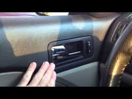 Ford Fusion Interior Door Handle Replacement Ford Fusion Mercury Milan And Lincoln Mkz Broken Door Handle