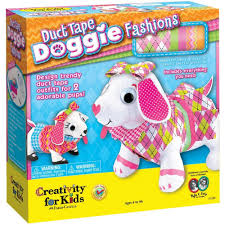 amazon com creativity for kids duct tape doggie fashions toys
