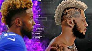odell beckham hairstyle how to get odell beckham s hair style in 2k the freshness 2k