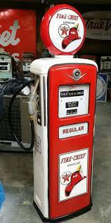 pompe a essence deco texaco fire chief gas pump gas globes u0026 gas pumps pinterest