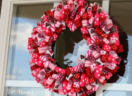 ribbon wreaths s day ideas charming ribbon wreaths to adorn your door