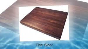 edge grain walnut butcher block cutting board by armani fine edge grain walnut butcher block cutting board by armani fine woodworking youtube