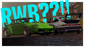 rwb porsche background forza horizon 3 porsche customization walktrough where is rwb