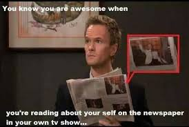 You Are Awesome Meme - barney stinson awesome meme by sufianmushtaq13 memedroid