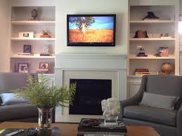 Built In Wall Shelves by Interior Modern Built In Wall Shelves With Fireplace Suede