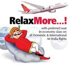 fly si e social home air india