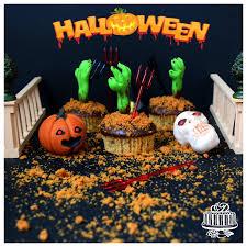 Especialmente Dulce Cupcakes De Calabaza Halloween