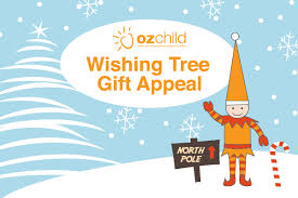 ozchild wishing tree christmas gift appeal ozchild
