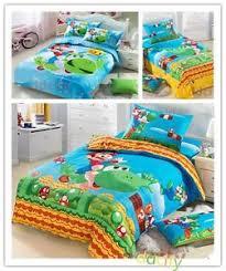 Mario Bedding Set Mario Bedding Set Duvet Cover Set Pillowcases Size