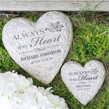 personalized memorial stones personalized memorial garden stones memorial gifts from