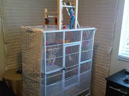 Dog Crate With Bathroom by Soundproof Bird Cage Audimute Soundproofing Feathered Friends
