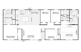 the carrington 74 ml30744c manufactured home floor plan or modular