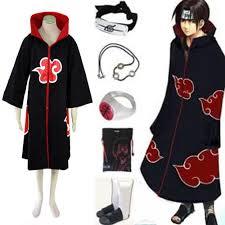 Naruto Costumes Halloween Naruto Itachi Uchiha Cosplay Costume Anime Cosplay