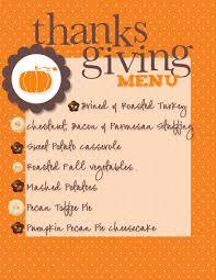 thanksgiving tremendous thanksgiving menu planner image ideas