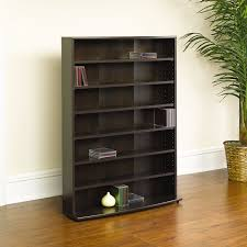 Sauder Five Shelf Bookcase by Amazon Com Sauder Multimedia Storage Tower Cinnamon Cherry
